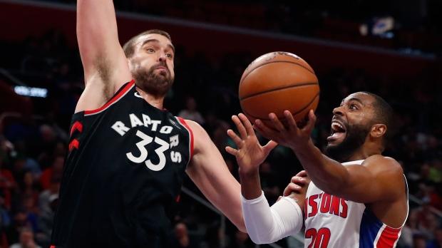 Toronto Raptors center Marc Gasol