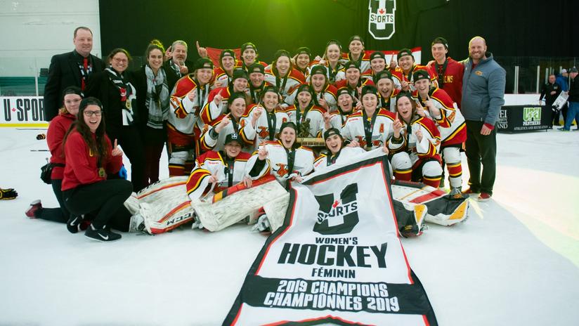 guelph gryphons women's hockey team u sports