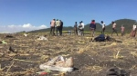 Ethiopia plane crash site
