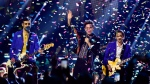 Arkells perform at the Juno Awards in London, Ont., Sunday, March 17, 2019. THE CANADIAN PRESS/Frank Gunn