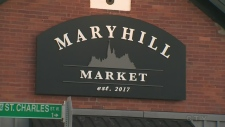Armed robbers hold up Merryhill Market