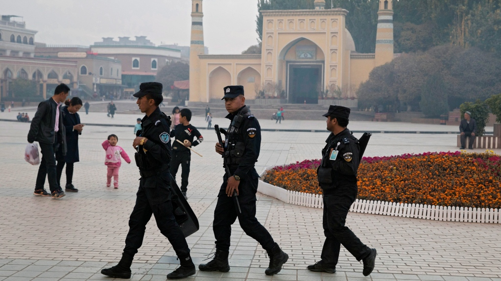 Uighur security