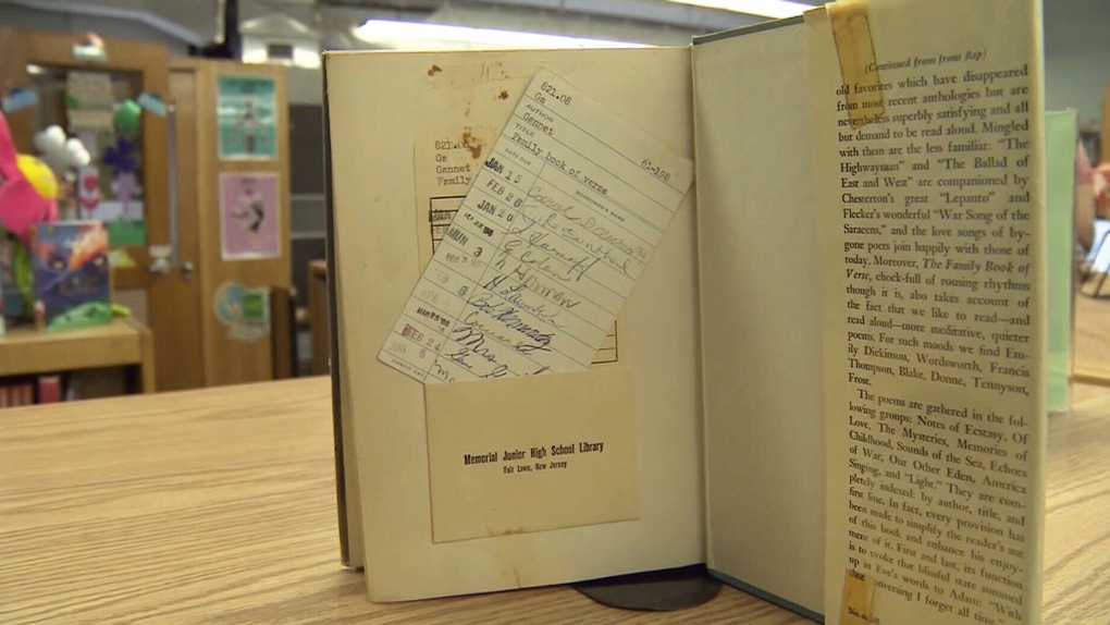 New Jersey man returns library book 53 years late, avoids US$2,000 late fee