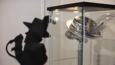 Gord Downie sculpture