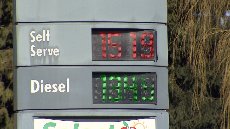 Gas prices are on the rise across Metro Vancouver