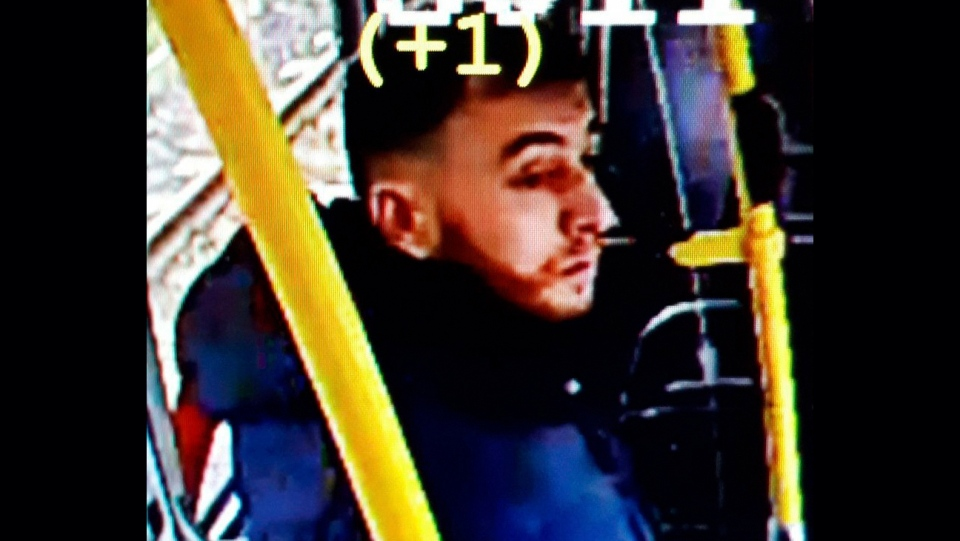 This image made available on Monday March 18, 2019 from the Twitter page of Police Utrecht shows an image of 37 year old Gokmen Tanis. (Police Utrecht via AP)