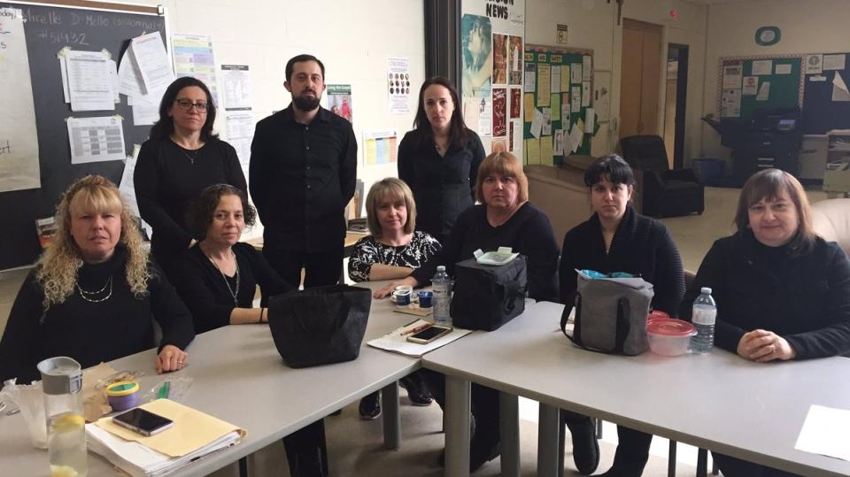 Teachers Wearing Black