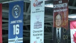 Kootenay Ice banners