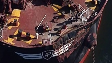 2 freighters collide in Vancouver Harbour