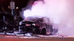 Fiery crash kills driver of Tesla