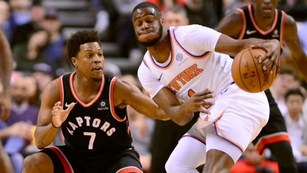 Raptors will be without injured guard Kyle Lowry for Thunder rematch