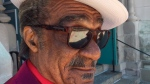 """R&B singer and songwriter Andre Williams died Sunday at age 82. Williams co-wrote """"Shake A Tail Feather."""" (Kenn Goodman/Pravda Records Archive via AP)"""