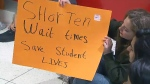 UofT protest after student's suicide