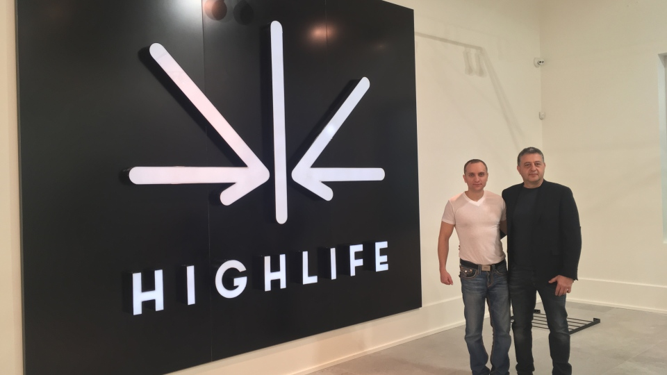 Sudbury's retail cannabis store Highlife is set to open April 1, 2019. (Alana Everson/CTV Northern Ontario)