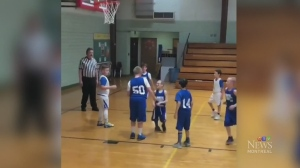 Trending: Helping hands on the court