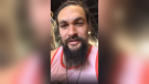 Jason Momoa stops for a meal at Marutama Ra-men in Vancouver's West End. (Instagram)