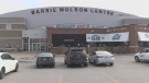The Barrie Molson Centre in Barrie, Ont. on Tues., March 19, 2019 (CTV News/Rob Cooper)