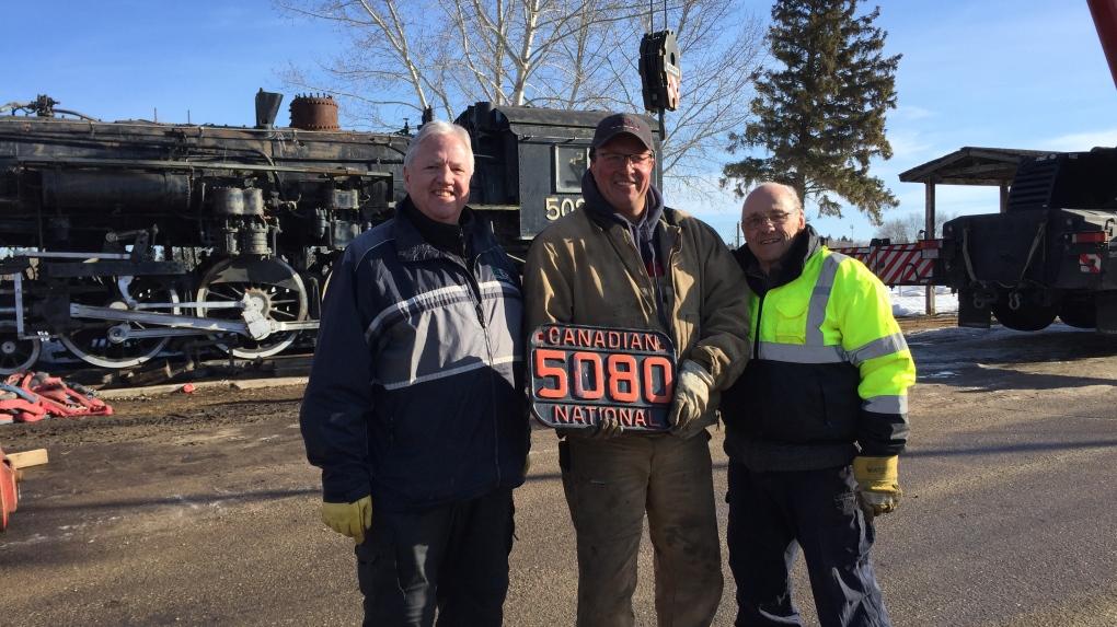100 year steam locomotive headed to Alberta for $1 million restoration