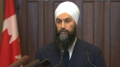 Jagmeet Singh reacts to 2019 budget
