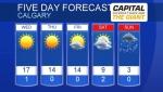 Calgary forecast March 19, 2019