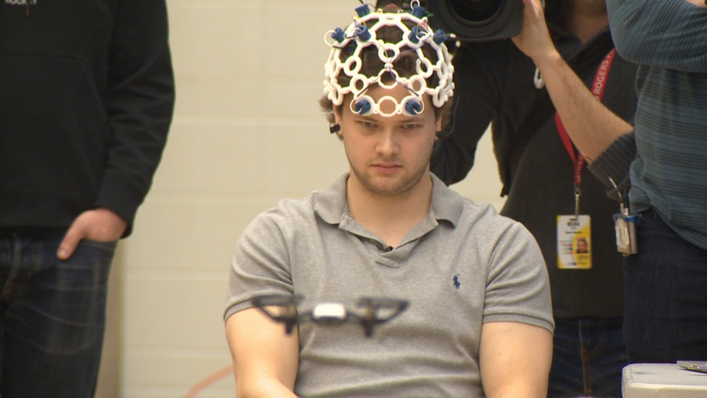 Brain wave-controlled drones: Edmonton grads do away with the old remote control