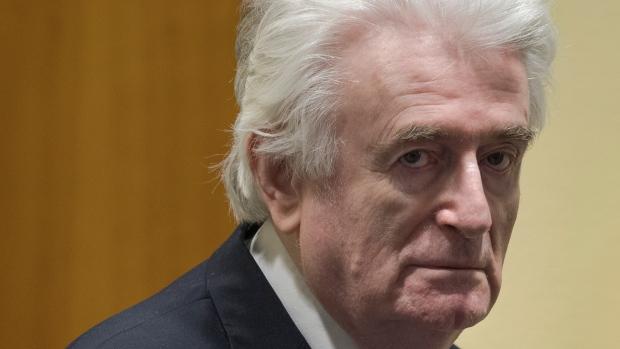Former Bosnian Serb leader Radovan Karadzic
