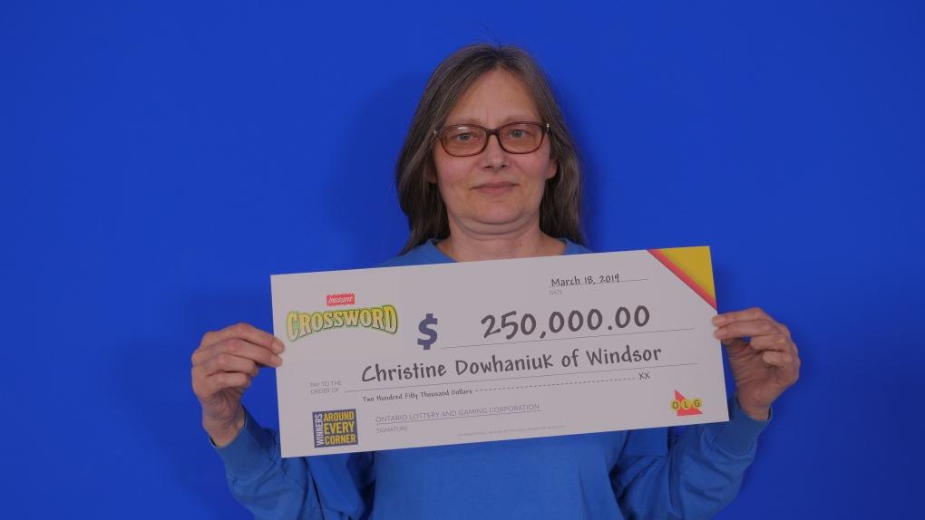 Windsor woman wins $250,000 with Instant Crossword Deluxe