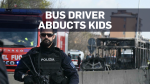 Driver abducts kids, ignites bus in Italy