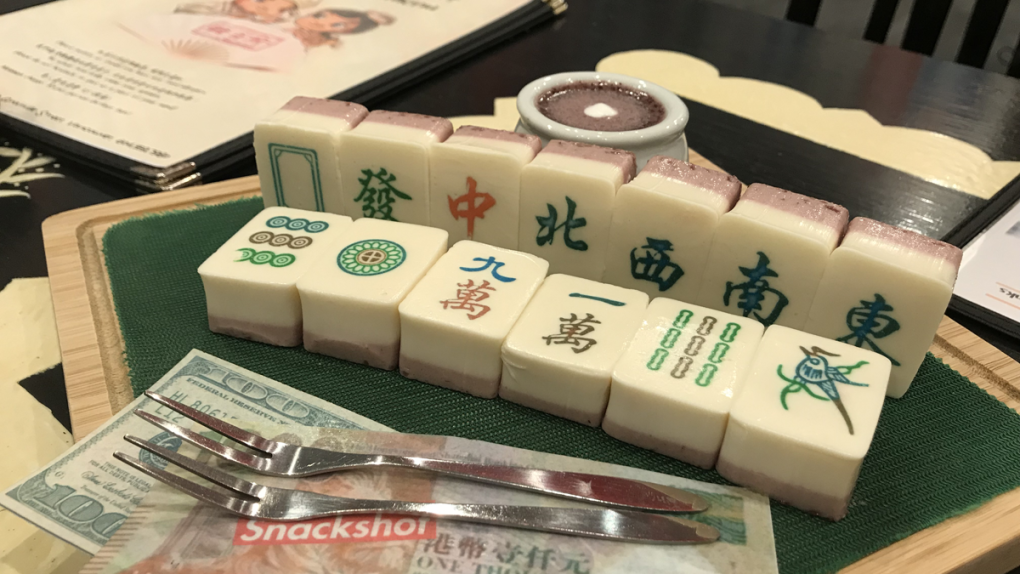Vancouver eatery deals winning hand with edible mahjong