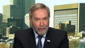 Budget walkout 'backfired' on Tories: Mulcair