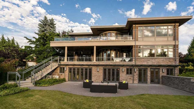 A four-bedroom, eight-bathroom Vancouver home listed for $19,980,000 is seen in an image from Realtor.ca.