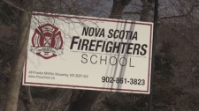 A firefighter who was critically injured during a training session at the Nova Scotia Firefighters School has died from his injuries.