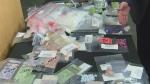 Three charged in methamphetamine bust