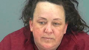 This booking photo provided by Pinal County Sheriff's Office shows Machelle Hackney. (Pinal County Sheriff's Office via AP)