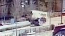Car crashes into school bus in Washington