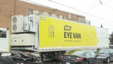 New mobile eye care van