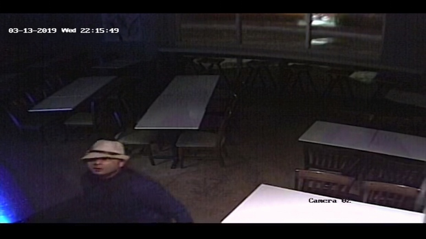 Image taken from surveillance video at Crum Coffee Bar.