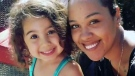 Samatha Paulino and her three-year-old daughter Carolyn are seen in this undated photo posted to a GoFundMe page.