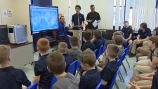 Calgary students speak with ISS astronaut