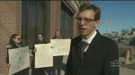 Teachers rally against support centre closure