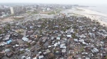Drone footage shows devastation in Mozambique