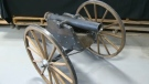 The CPS currently has a replica cannon on its hands and is hoping the owner will come forward to retrieve it