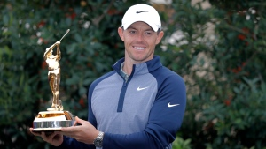 Rory McIlroy, of Northern Ireland, holds the trophy after winning The Players Championship golf tournament Sunday, March 17, 2019, in Ponte Vedra Beach, Fla. The No. 4 ranked men's golfer in the world will be coming to the RBC Canadian Open this summer. THE CANADIAN PRESS/AP-Gerald Herbert