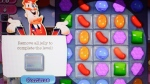 "A detail from the online game ""Candy Crush Saga"" is shown on a computer screen, Monday, March 24, 2014 in New York. (AP Photo/Mark Lennihan)"