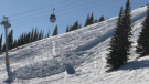 Man critically injured in avalanche
