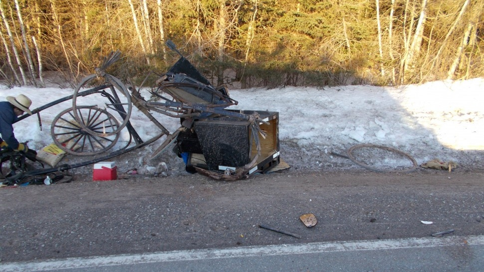 Amish buggy destroyed in P.E.I. crash: 'They have a right to the road as well'