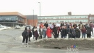 Sudbury students walk out