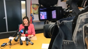 Dr. Jennifer Russell, New Brunswick's Chief Medical Officer of Health, says a toxicology report revealed furanyl-fentanyl was found in the system of a person who died recently in northern New Brunswick. (CTV LAURA BROWN)