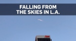 Mysterious objects lights up L.A. skies