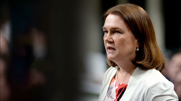 Former Liberal cabinet minister Jane Philpott is pictured in this undated file image.